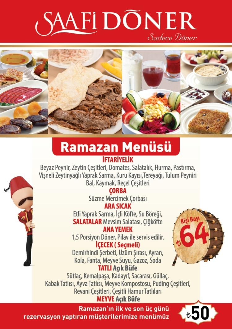 ramazan menusu